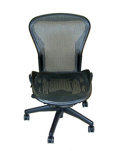 Herman Miller Aeron Mesh Ergonomic Office Task Chair Sz B Needs Attention 18