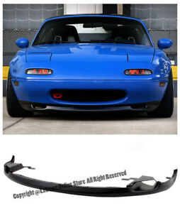 For 90 97 Mazda Miata Mx5 Na Jdm Rs R Package Front Lower Bumper Lip Splitter