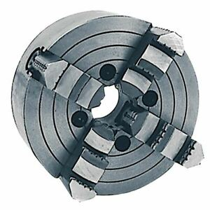 Phase Ii 557 012 4 Jaw Plain Back Independent Chuck chuck Size 12