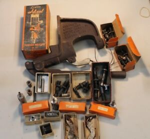 VINTAGE USED RELOADING EQUIPMENT HERTERS AND LYMAN
