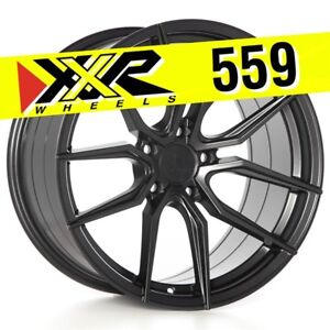 Xxr 559 18x10 5 114 3 20 Matte Graphite Wheels Set Of 4 Fits Mitsubishi Evo