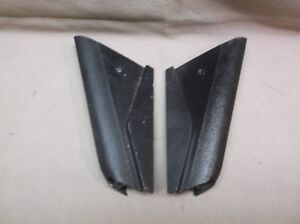 1969 1979 Mercury Cougar Ford Mustang Black Pr Outer Dash Corners Xr 7 Shelby