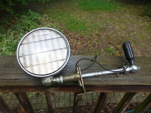 1915 Antique Vintage Appleton Driving Light Spotlight Searchlight Patterson Lenz