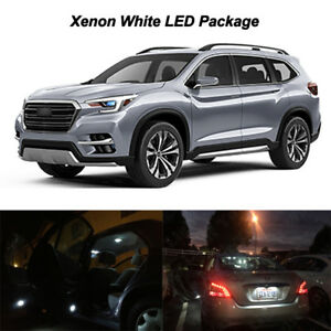 17 X White Led Interior Map Dome Tag Light Bulbs Package For 2019 Subaru Ascent