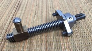 Atlas Craftsman 10 12 Metal Lathe Compound Tool Post Slide Screw W Dial 10f 305