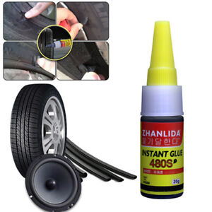 20g Rubber Tire Tyre Puncture Sealant Glue Bike Car Tire Patch Repair Emergecy