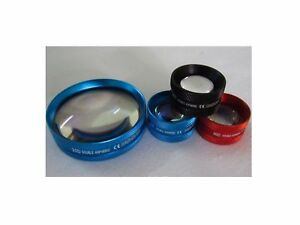 78d 90d 20d Aspheric Non Contact Lens For Ophthalmology And Optometry