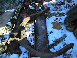 Farmall 340 Utility Tractor Ih Fasthitch Main Wishbone Mount