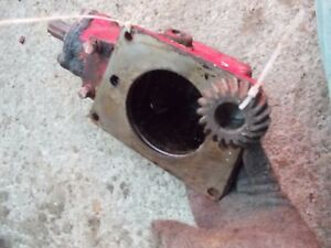 Farmall C Sc Super C Tractor Ih Ihc Belt Pulley Drive Assembly Drive Gear