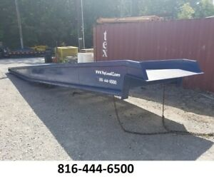 Yard Ramp Trailer Loading Dock Forklift Ramp 16k Lb 70 Wide 64 Usable