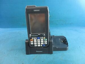 Intermec Cn3 Wireless Mobile Handheld Barcode Scanner With Cradle Dock Used