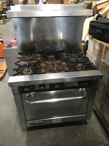 Vulcan V36 Commercial 36 Gas Range W Oven New Jersey