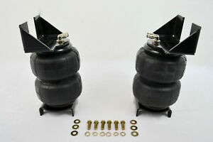 Rear Weld On Air Ride Mounting Brackets W 2600 Air Bag Suspension Mount Kit New