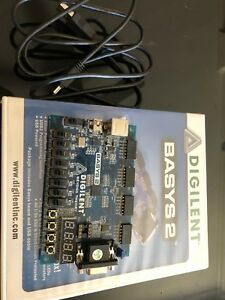 Used Basys 2 Xilinx Spartan3e 250 Development Kit Digilent Fpga With Usb