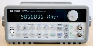 Hp Agilent 33120a Opt 001 15 Mhz Function Arbitrary Waveform Generator Clean