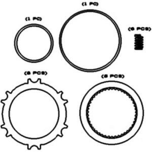 Pto Clutch Plate Kit International 784 684 484 574 674 584 Case Ih 595 685 695