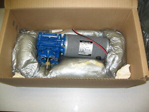 Groschopp Motor W Gear Head Pm8014 ra3015m New