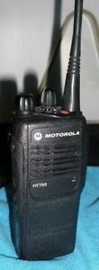 Motorola Ht 750 403 470 Mhz Uhf 16 Ch aah25rdc9aa3an W charger