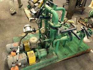 Viking Spur Gear Process Pump Transfer Skid Chemical Fuel Solvent