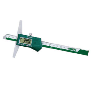 Insize Electronic Digital Depth Gauge 0 8 0 200mm 1141 200a