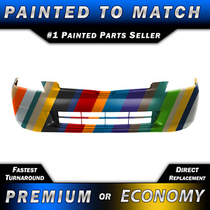 New Painted To Match Front Bumper Cover Fascia For 2003 2004 2005 Honda Accord