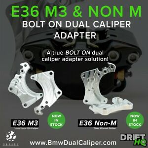 Bmw E36 M3 Dual Caliper Brackets Drift Time Attack Hydro Rally
