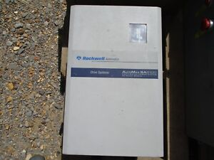 Rockwell Automation Drive Systems Automax Sa3100 1336s r020 aa en4 Used