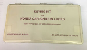 Asp A 19 103 Keying Kit For Honda
