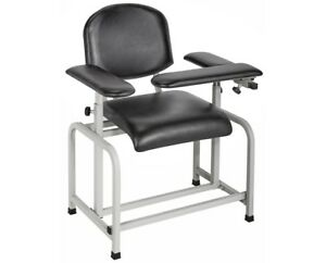 Brand New Blood Drawing Chair By Admirmed black