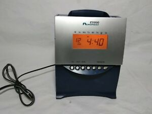 Acroprint Es1000 Self Totaling Time Recorder Clock