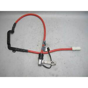 2006 2010 Bmw E60 M5 Trunk Positive Battery Cable Terminal Red S85 Oem