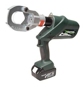Greenlee Esg50l12 Gator Battery powered Cable Cutter With 12v Charger