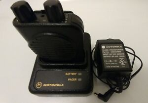 Motorola Minitor Iv Pager Base Charger Power Supply