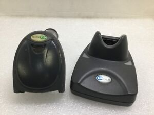 Ncr Honeywell 3820 Wireless Bluetooth Barcode Scanner With Charging Base Black