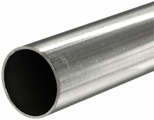 316 Stainless Steel Round Tube Od 3 8 Wall 0 035 Length 4x6ft Seamless