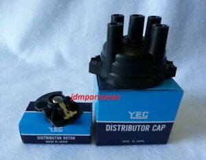 Distributor Ignition Cap Rotor Kit Made In Japan Fits 1991 1994 Nissan 240sx