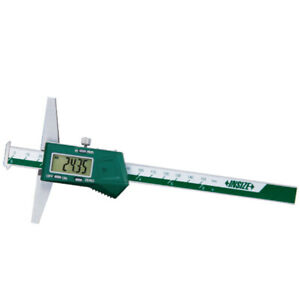 Insize Electronic Digital Double Hook Depth Gauge 0 12 0 300mm 1144 300a