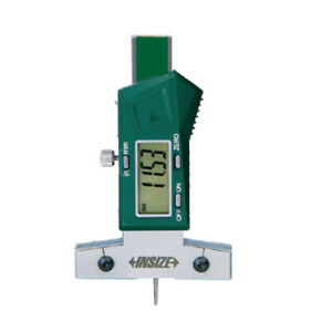 Insize Electronic Digital Depth Gauge 0 1 0 25mm 1145 25a