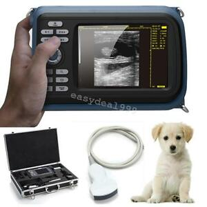 Usa Veterinary Portable Digital Palm Ultrasound Scanner With 3 5mhz Covex Probe