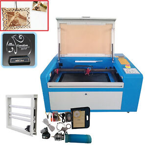 50w Co2 Laser Cutter Engraving Cutting Machine 300x500mm Up down Table Usb Port