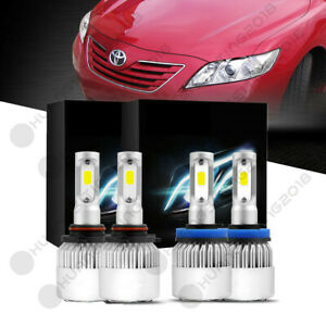 For 2007 2009 Toyota Camry Clear Projector Led Headlight Lamp Bulbs Us 18920