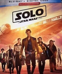 SOLO:A STAR WARS STORY(BLU-RAY+DIGITAL)WSLIPCOVER PRE-ORDER 9252018 NEW