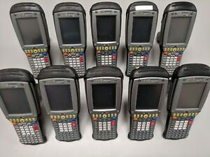 Lot Of 10x Psion Teklogix 7535 Barcode Scanners Color Touch 1d Laser Win Ce
