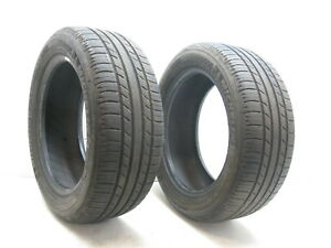 2 Used Michelin Premier A S 205 55 16 205 55 16 P205 55r16 Tire Tires 6 32 Pair