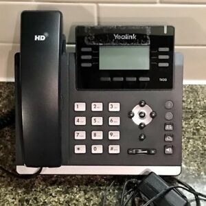 Yealink Yea sip t42g Ultra elegant Gigabit Voip Ip Phone