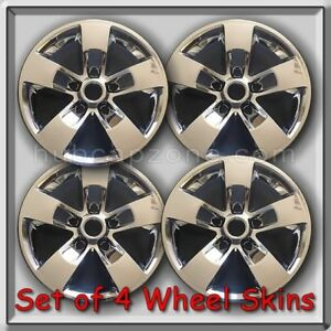 Chrome 2015 2016 17 Dodge Ram Truck 1500 Wheel Skins Hubcaps Wheel Covers Set 4