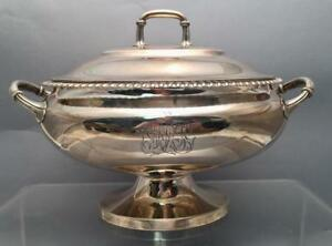 Sterling Sliver Soup Tureen By Bailey Banks Biddle