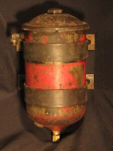 Massey Harris Farmall Tractor Equipment Canister Oil Filter Remote Mount