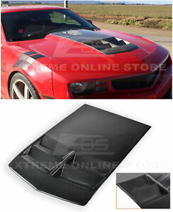 For 10 15 Chevrolet Camaro Zl1 Tl1 Style Carbon Fiber Hood Bonnet With Air Duct