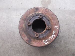 Farmall Sh H 300 350 Hv Tractor Ih Paper Belt Pulley 10 1 2 x 7 3 4 Bolts